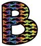 Bulletin Board Letters: Rainbow Mustache (Classroom Decor)