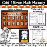 Bulletin Board Ready {Mum's the Word -Even/Odd Math Fun}