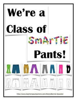 Bulletin Board Set - Smartie Pants