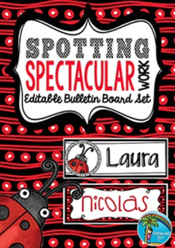 Bulletin Board Set: Spotting Spectacular Work {UK VERSION}