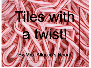 Bulletin board letters Candy Canes