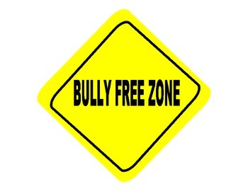 Classroom Management- Bully Free Zone Sign