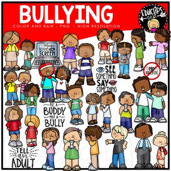 Bullying Clip Art Bundle {Educlips Clipart}