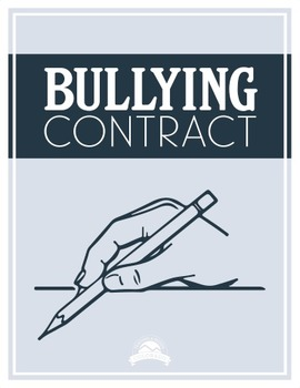 Bullying Contract {Editable}