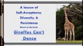 """Bullying Prevention Lesson """"Giraffes Can't Dance"""" video li"""