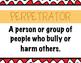Bullying Vocabulary Assessment