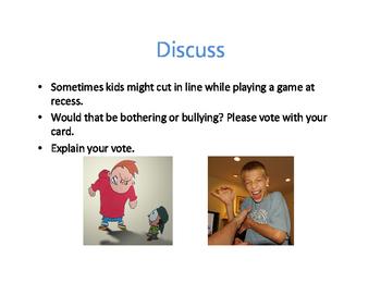 Bullying vs. Bothering Lesson