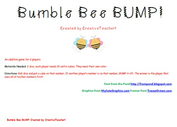 Bumble Bee BUMP Addition