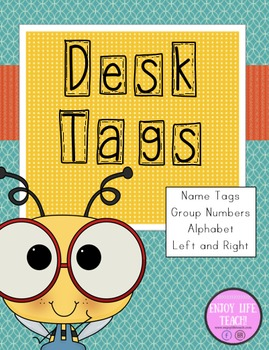 Bumble Bee Desk Tags