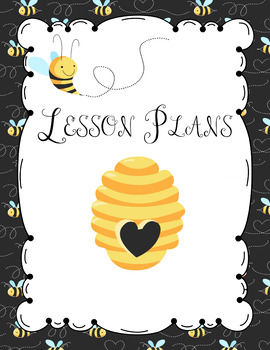 Bumble Bee Editable Teacher Lesson Planner-Binder 2016-17