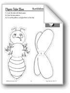 Bumblebee Paper Tube Animal