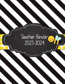 Bumblebee Teacher Binder 2016-2017