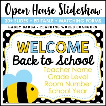 Bee Back to School PowerPoint
