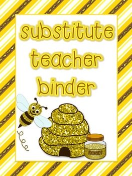 Bumblebee Theme Substitute Binder