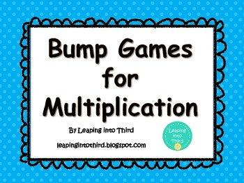 Bump Games for Multiplication