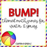Bump! Themed Math Bump Games for Second Semester