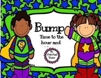 "Time to hr & 1/2 hr - Playing ""Bump"" Game"