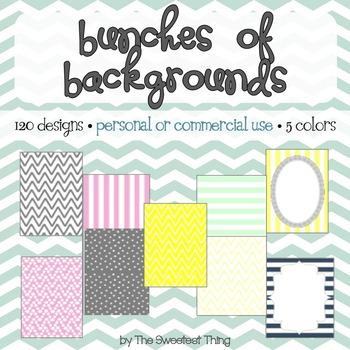 [Backgrounds Set #1] Designs, Frames for Personal / Commer