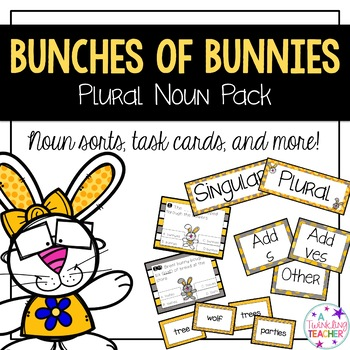 Bunches of Bunnies A Plural Noun Pack of Activities!
