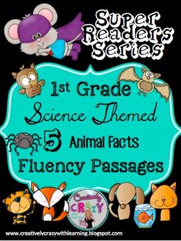 Bundle #1 Fluency Passages With Comprehension: Super Reade