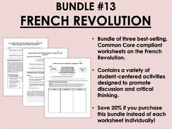 Bundle #13 - The French Revolution - Global/World History