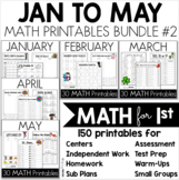 Bundle 2 - Common Core Crunch MATH January to May - CCSS P