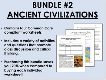 Bundle #2 - Ancient Civilizations - Global/World History C