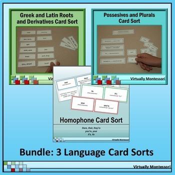 Bundle: Greek & Latin Roots, Homophones, Plurals & Possess