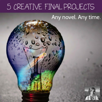 Bundle: 5 Creative Secondary ELA Projects for $5