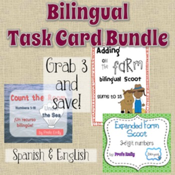 *Bundle* Bilingual Task Cards