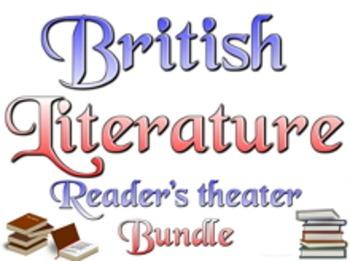 Bundle: British literature reader's theater, lessons, rubr