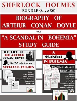 "Bundle: Conan Doyle Biography and ""Scandal in Bohemia"" (42"
