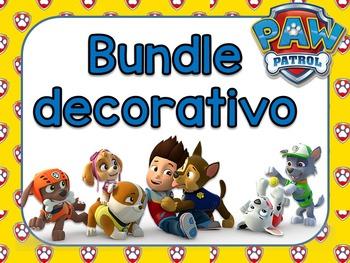 Bundle Decorativo Paw Patrol