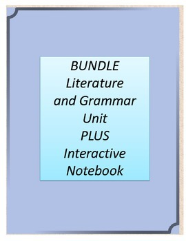 Bundle! Dogsong Literature and Grammar Unit AND Interactiv