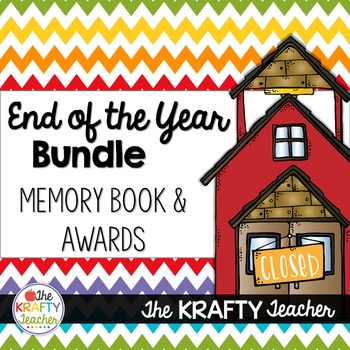*Bundle* End of the Year Memory Books and Awards Kindergar