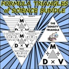 Bundle: Formula Triangles of Science