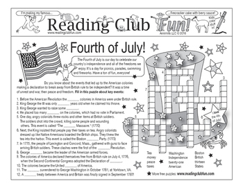 Bundle: Fourth of July (American Revolution) Two-Page Acti