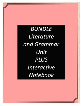 Bundle! Homeless Bird Literature and Grammar Unit AND Inte