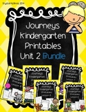 Bundle! Journeys Unit 2 Kindergarten Supplementary Materials