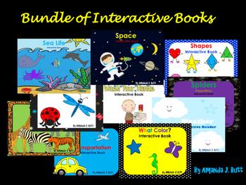 Bundle Interactive Books: Special Education; Autism; Presc