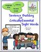 Sight Words for Sentence Building Bundle (K, 1, 2)