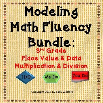 Bundle: Mastering Math Fluency - Place Value, Data, Multip