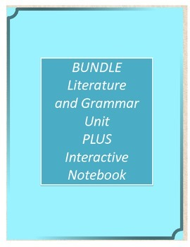 Bundle! Number the Stars Literature and Grammar Unit AND I