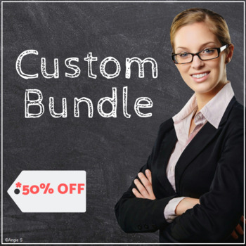 Bundle Of Your Choice - Special Ed, Autism and Speech Ther