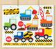 CLIPART BULK PACK -  Transportation / Cars, Trucks & Plane