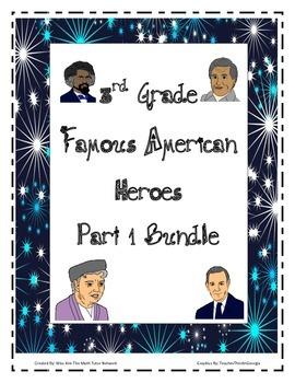 Bundle-{ Part 1} Chavez, Eleanor Roosevelt, Frederick Doug