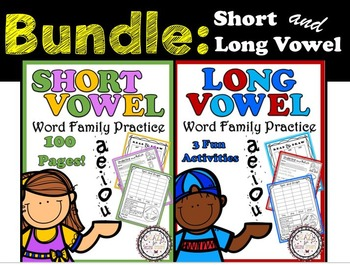 Bundle: Short and Long Vowel Practice
