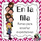 Spanish Bilingual Classroom Procedures Bundle