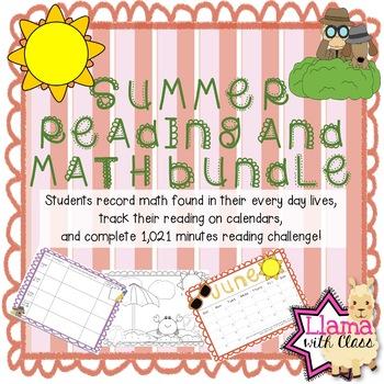 Bundle: Summer Reading and Summer Math
