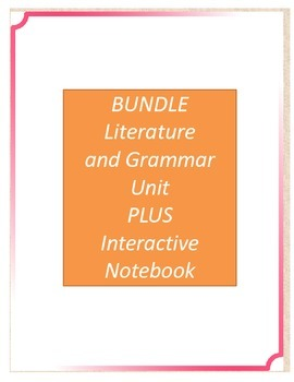 Bundle! The Westing Game Literature and Grammar Unit AND I